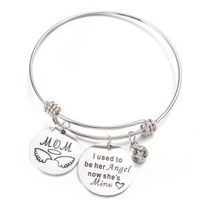 Jewelry - SALE💛 Message Charm Bangle - I used to be ...